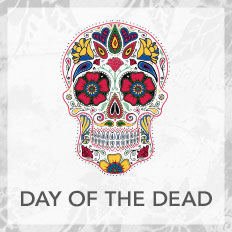 Day of the Dead Sugar Skull Collection